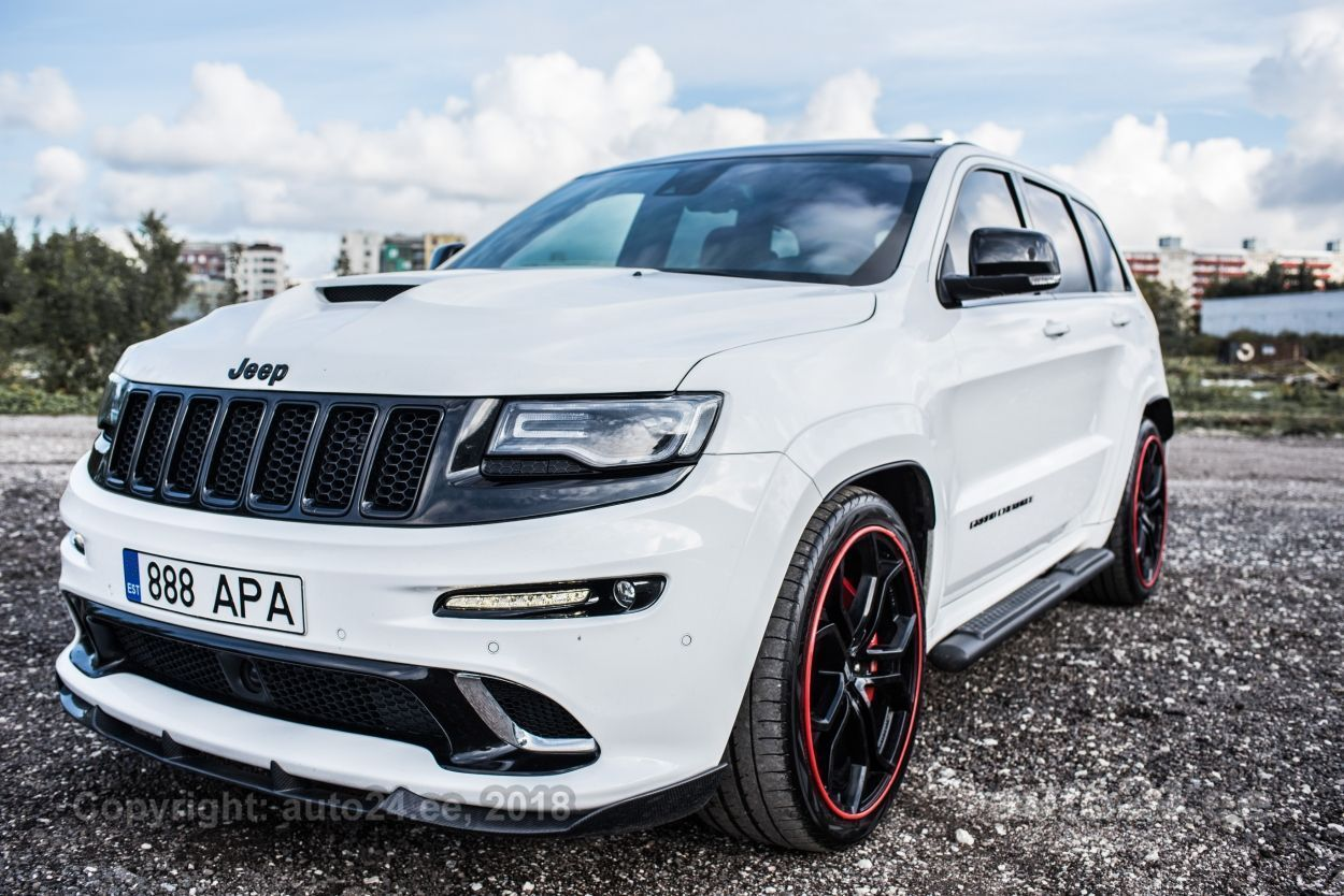Jeep Grand Cherokee SRT 6.4 344 KW